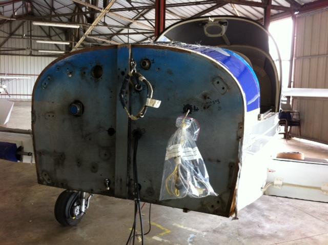 Réparation CPF-pontet Robin DR 400